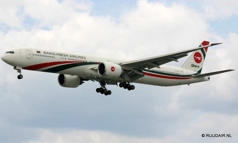 Boeing 777-300 Bangladesh Airlines