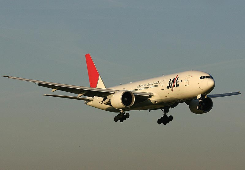 Boeing 777- 200 Japan Air Lines (JAL)