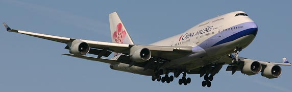 Boeing 747 China airlines